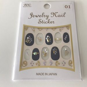 Jewelry - Nail stickers made in Japan
